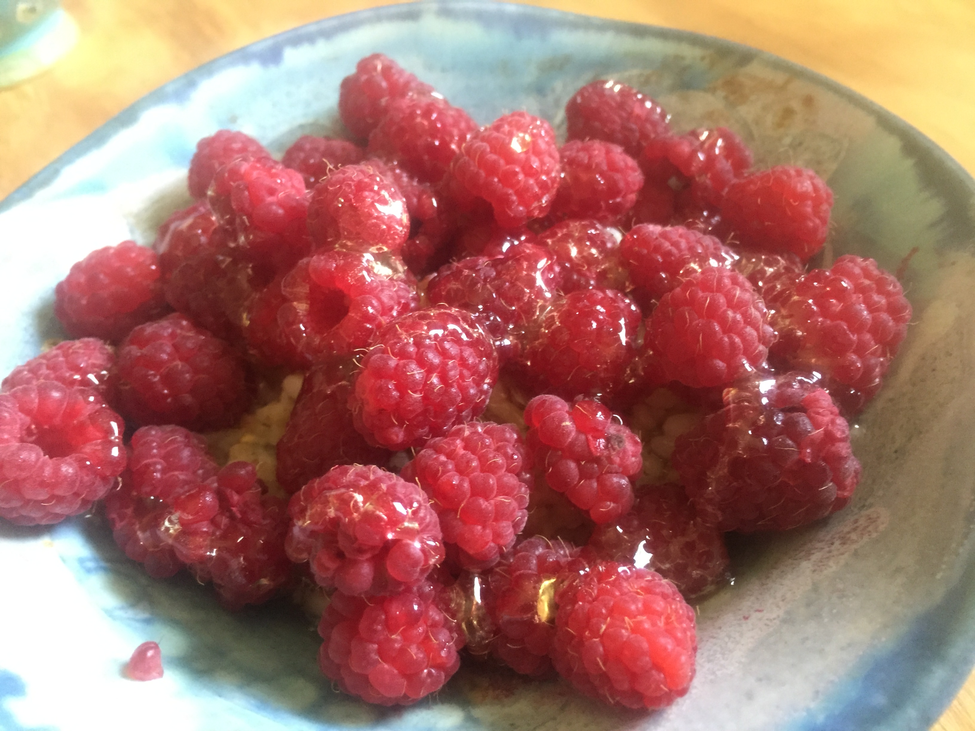 Raspberries and Honey