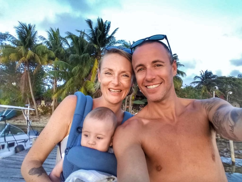 The Rickman Family enjoying some Soggy Peso dock time.