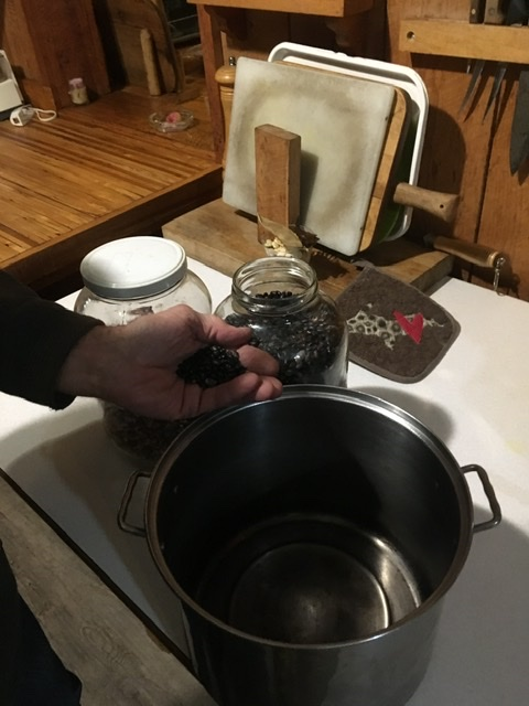Dad's Black Beans
