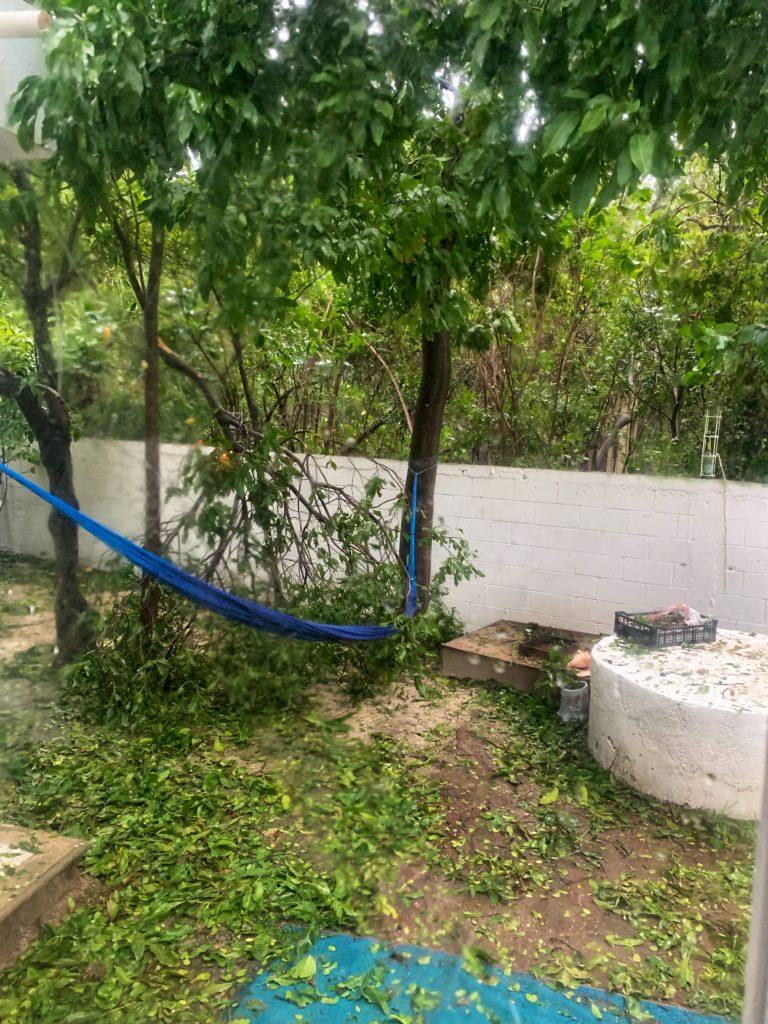 Isla Mujeres storm damage hurricane Delta